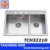 "Shunde Location:Stainless Sink 33""x22"" Size"