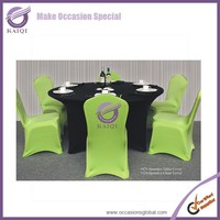475 custom round or rectangular polyester lycra spandex tablecloths and chair covers