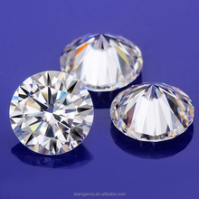 moissanite 10ct. genuine round brilliant cut white moissanite loose best diamond alternative clean fancy faceted see VIDEO