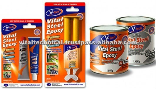 VT-142 High Mechanical Strength Vital Steel Epoxy Adhesive