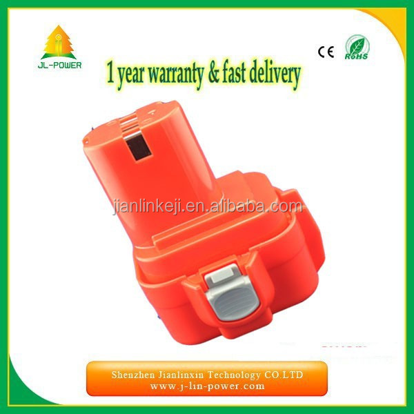 Replacement Makita 9.6v battery for 9100, 9100A, 9101, 9101A, 9102 cordless drill
