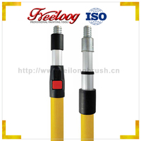 Hot Selling paint brush extension pole,paint roller telescopic pole,plastic telescopic extension pole