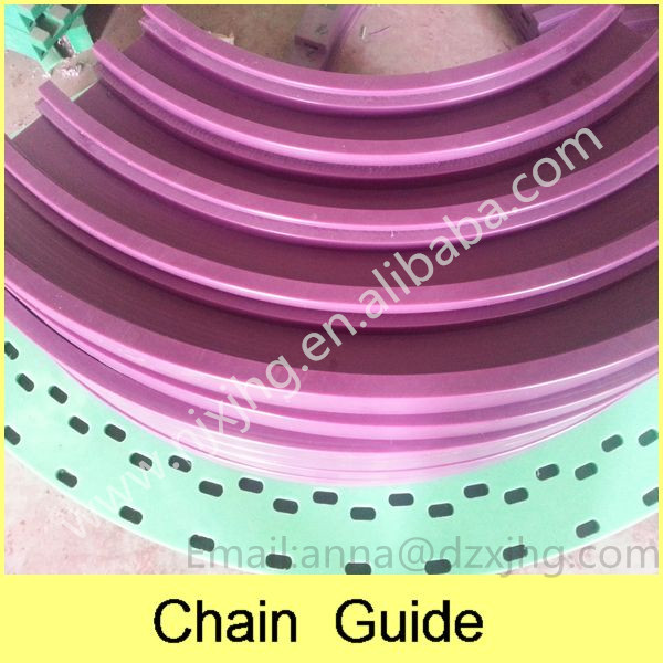 UHMWPE Chain Guide & Corner Track