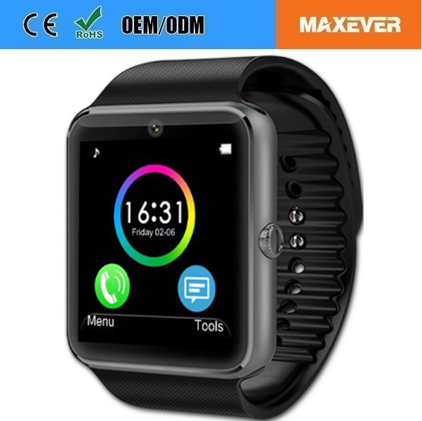 Factory Wholesale Bluetooth GSM 2G Phone Smart Watch With SIM Card Slot