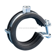 Stainless Steel High Quality Precision Split Pipe Clamp With Rubber