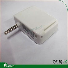 MCR01 EMV 3.55mm jack audio android 2.1 Mobile Phone Smart Chip Card Reader