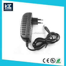 Shenzhen supplier KUNCAN ac power adapter 12v 1250ma for set top box
