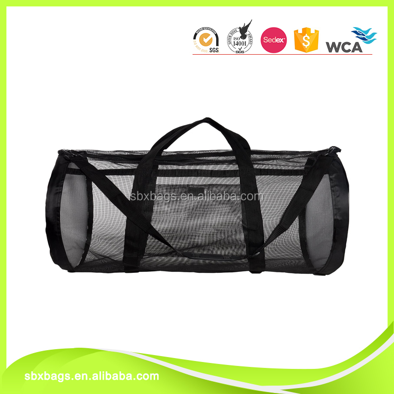 New style mesh duffel bag ,storage pouch for picnic,travel or sport