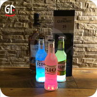 High Quality 2016 New GFLAI Brand Night Party Bottle Decoration LED Bottle Sticker Light