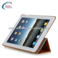 Rotating Smart Cover leather Case with Stand for iPad mini,for iPad 2/3/4/5