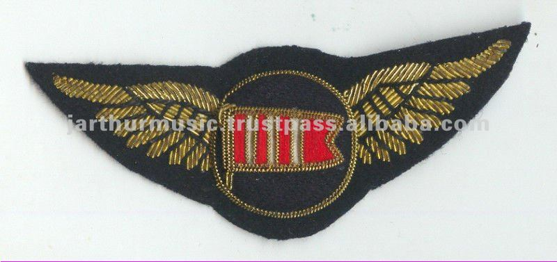 DAN-AIR Airlines UK Defunct PILOT Wings Patch