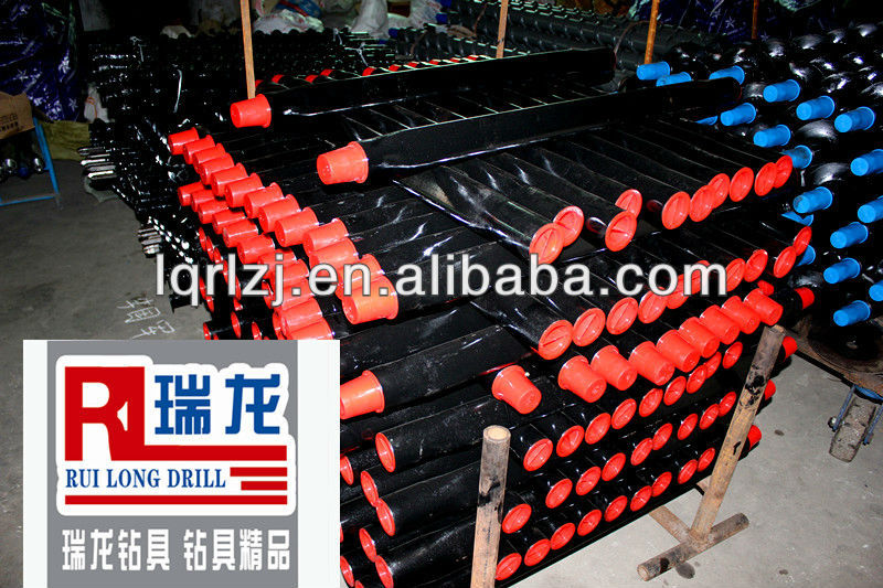 high quality geological core drill pipe/NQ HQ drill rod/gas drill pipe
