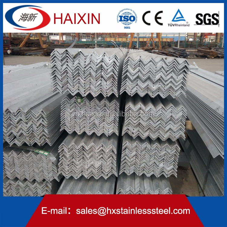 most popular hot rolled stainless steel angle bar durable