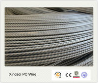 4mm 5mm 6mm high tensile PC Steel Wire 1670MPa China Factory price