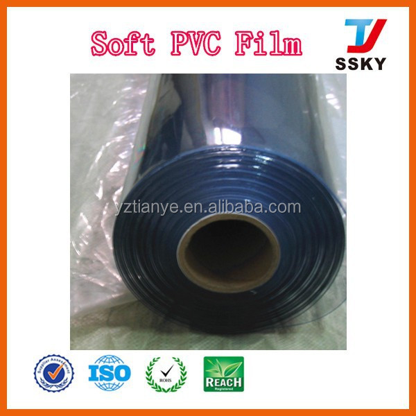 Soft packaging pvc film transparent pvc table cover for protective film