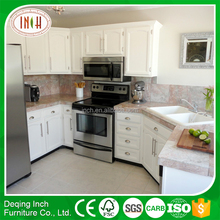 Easy installation rta kitchen cabinet with pearl white kitchen cabinet