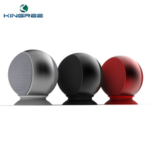 Top selling stereo sound wireless mp3 radio player bluetooth speaker ball .
