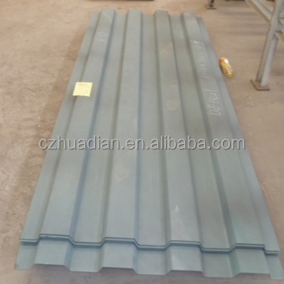 Newest stylish two sides steel sandwich panel house