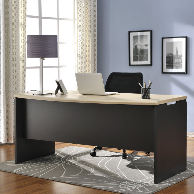 new japan modern design wooden office furniture used to CEO table.