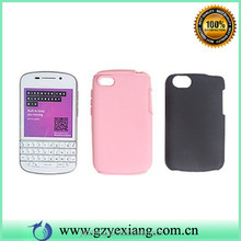 Hot Selling Silicone Plastic Hard Bumper Case For Blackberry Q10