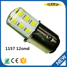 T10 led bulb 1157 12smd 12V for cars top quality silica gel for car parts