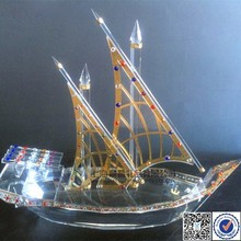 Crystal Souvenirs Arab Dhow For Sale