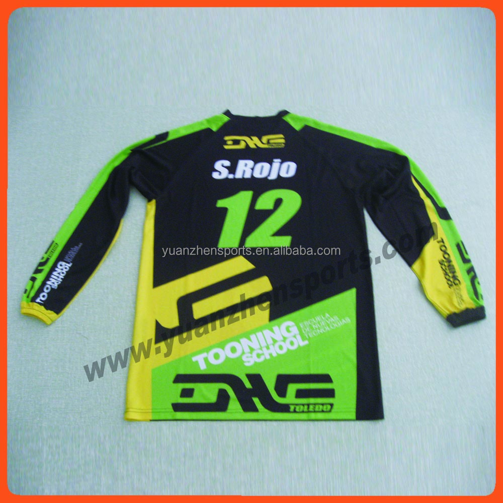 custom sublimation motorcycle shirts custom racing polo shirt