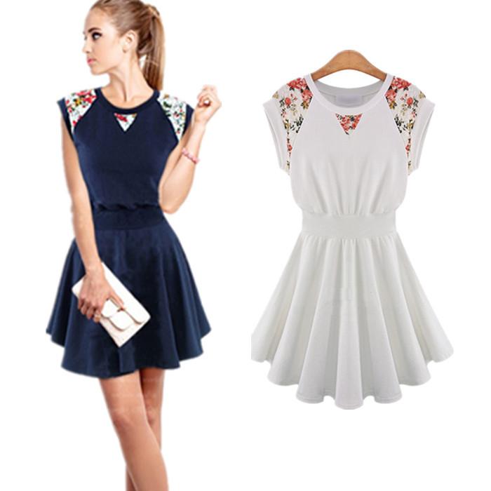 b24dca58e2d Get Quotations · New Summer Dress Women 2015 Vintage A-Line Women Dresses  Size M-XL Sexy