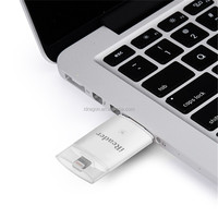 New fashion plastic mini 123 card reader for mobile phone with tf card reader