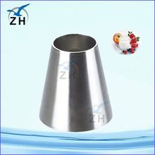 stainless steel reducer pipe fitting seamless reducing cross