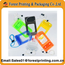 Custom PVC waterproof phone bag,mobile phone PVC waterproof bag