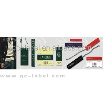 OEM brand name custom logo label of graded goods self adhesive labels stickers
