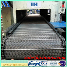 China Stainless steel metal conveyer belt