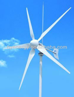Maglev Vertical Axis Wind Turbine Generator Home use