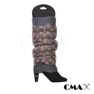 High Quality fashionable girls leg warmer socks