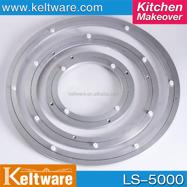 5 40 INCH Furniture Kitchen Hardware Aluminium Lazy Susan Turntable