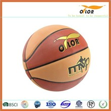 Size 7 Pu Leather Custom Basketball