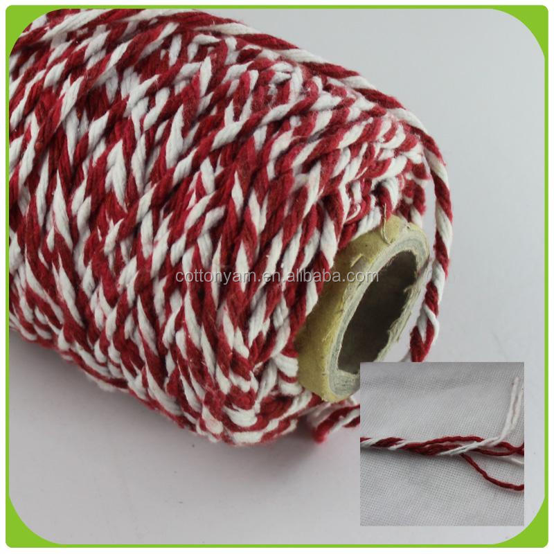 Ne0.5s/4 open end recycled cotton blended yarn for mop yarn buyer