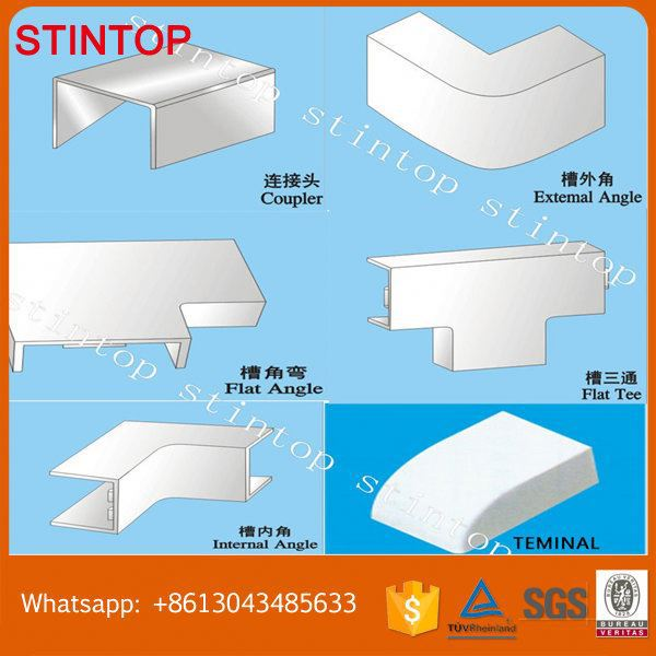 Hydroponic Trunking Pvc Trunking With Or Without Sticker