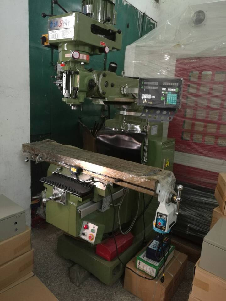Reliable factory Good efficiency vertical turret type 3-H milling machines