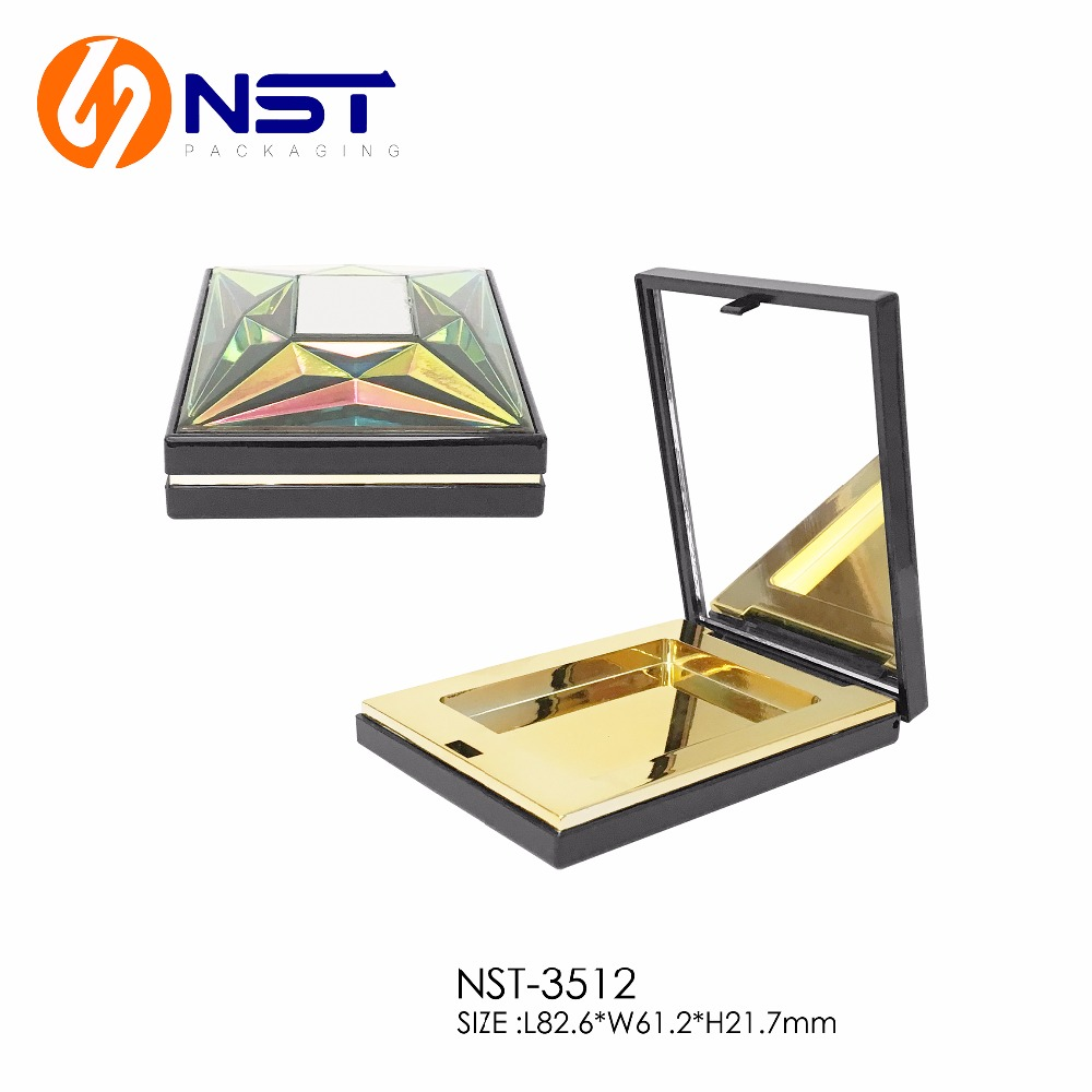 Rare design robot element compact powder box in 2017