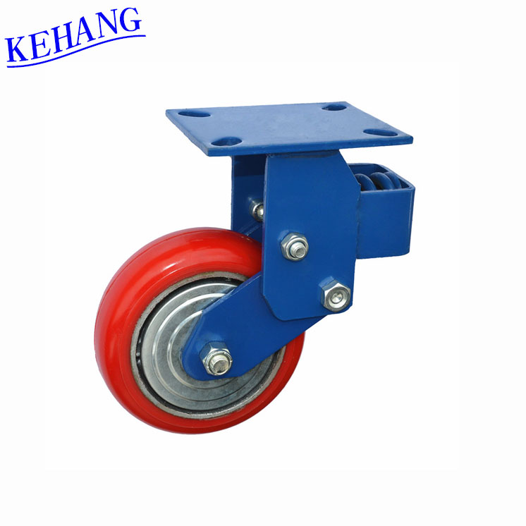"Supply 8 "" heavy - duty polyurethane directional casters wheel damping for brass furniture chair meaning urdu"