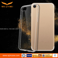 Transparent TPU soft shell embossed mobile phone shell cover for iphone 7 case sublimation