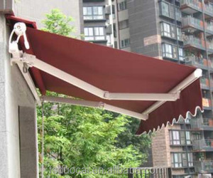 outdoor waterproof Folding Arm Retractable Awning for terrace