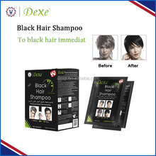 Wholesale black hair products henna allergy free hair dye for men and women