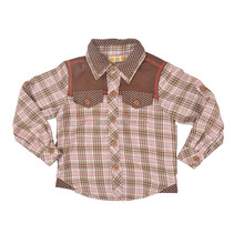 Checker casual new style fashion boy's shirt