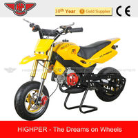 2014 new 49cc 2 stroke Mini Motard, Pocket Bike Cross motorcycle for Kids with CE