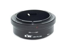 KIWIFOTOS LMA-FD_EM lens mount adapter for Canon FD lens to on any Sony E-Mount camera body