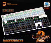 Key cap with double injection moulding and anti-scratch G100 Waterproof Mechanical keyboard