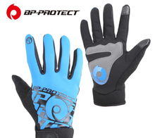 Full Finger Bicycle Gloves Breathable Shockproof Road Cycling Gloves